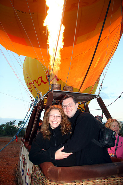 Romantic Hot Air Ballooning