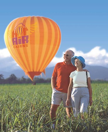 Australian, UK & European Images - Hot Air Cairns & Port Douglas