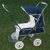 Rare 1975 Cyclops Lullabye in Navy. This pram has been stored for years and is very low mileage. Photographed as purchased with no cleaning undertaken at this stage.