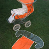 "Rare Cyclops ""sherwood"" stroller with front cover"