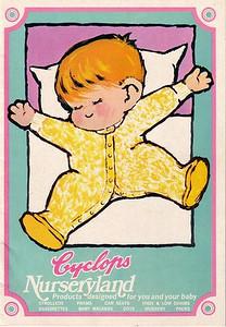 Cyclops pram brochure - circa 1973