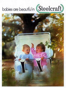 1973 Steelcraft prams - front cover