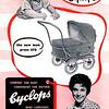 Vintage Cyclops pram brochure - circa 1969