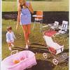 1969-70 Steelcraft pram brochure.