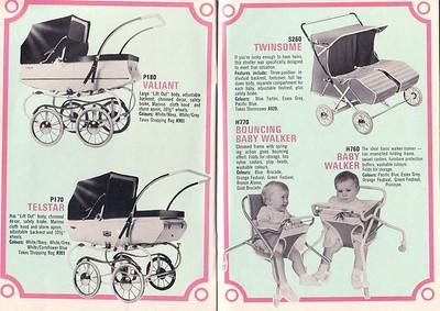 Cyclops pram brochure - circa 1970
