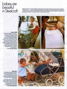 1973 Steelcraft pram brochure - page 01