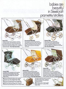 1973 Steelcraft pram brochure - page 04