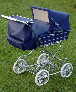 Vintage steelcraft windsor pram 03