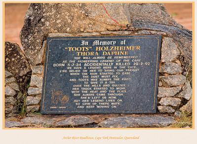 'Toots' Memorial