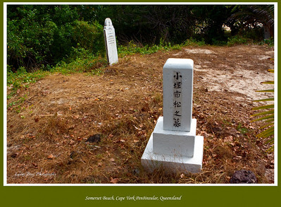 Japanese Pearl Divers Grave