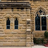 Close up of sandstone - St Mary's Catholic Church at Warwick.