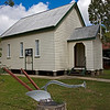 St Mark's Uniting Church - originally situated at Kooroongarra, opened in 1897 - now found at the Millmerran Historical Museum