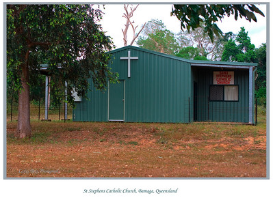 St Stephens Catholic Church at Bamaga, Cape York Peninsular, Queensland, Australia.   Photographed June 2010 - © Lesley Bray Photography