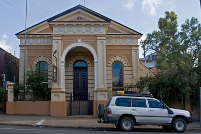 Originally the Royal Bank of Queensland - built in 1892.
