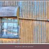 Window at Ilfracombe, Queensland, Australia.