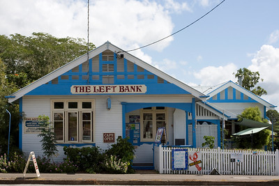 'The Left Bank' - Bed & Breakfast/Cafe at Kilkivan in an original Queenslander, which was a bank, circa early last century.