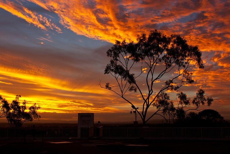 Denmark Hill Sunset