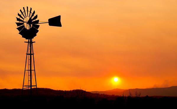 Smoke and the Windmill