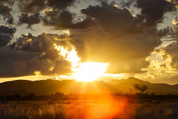 Sunrise, West MacDonnell Ranges, Northern Territory, Australia