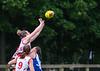 4th September 2021 at Linlithgow Rugby Club. Scottish Australian Rules Football Association Womens Grand Final - Edinburgh Bloods v Glasgow Sharks