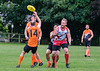 4th September 2021 at Linlithgow Rugby Club. The Scottish Australian Rules Football Association Mens Grand Final - Edinburgh Bloods v Glasgow Giants.