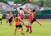 24 June 2017 at Nethercraigs, Glasgow. <br /> AFL Scotland league match - Greater Glasgow Giants v Edinburgh Bloods