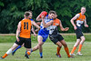 9 June 2018 at Nethercraigs, Glasgow. AFL Scotland match - Greater Glasgow Giants v Glasgow Sharks.