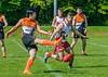19 May 2018 at Nethercraigs, Glasgow. AFL Scotland league match -  Greater Glasgow Giants v Edinburgh Bloods
