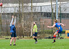 14 April 2018 at the West of Scotland Rugby Clyb, Bearsden, Glasgow. The 2018 Haggis Cup.<br /> Glasgow Sharks v University of Birmingham