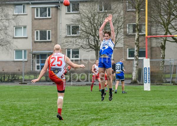 14 April 2018 at the West of Scotland Rugby Club, Bearsden, Glasgow. The 2018 Haggis Cup.<br />  Glasgow Sharks v Edinburgh Bloods