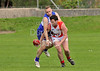 Australian Rules Football - SARFL Grand Final - Linlithgow RFC on 31 August 2013. Edinburgh Bloods v Glasgow Sharks