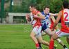 23 August 2014. The Scottish Australian Rules Football League Grand Final at Falkirk High School. Edinburgh Bloods v Glasgow Sharks.