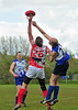 Glasgow Sharks v Edinburgh Bloods <br /> The opening match of the Scottish Australian Rules Football League 2012, played at GHA, Glasgow on 12 May.