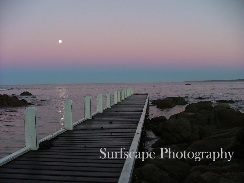 Setting Moon, Cape Conran Coastal Park, Victoria