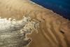 Vue aérienne d'une rive de l'estuaire de l'Albert River. Golfe de Carpentarie. Queensland/Australie