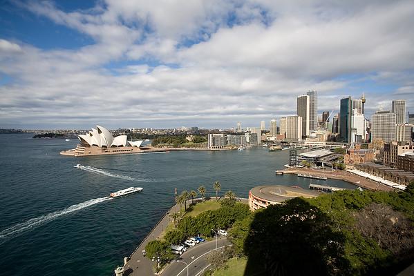 Hafen mit Sydney Oper