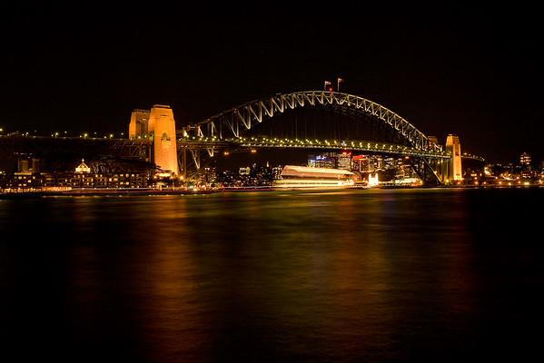 Habour Bridge beleuchtet