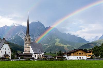 Maria Alm Rainbow