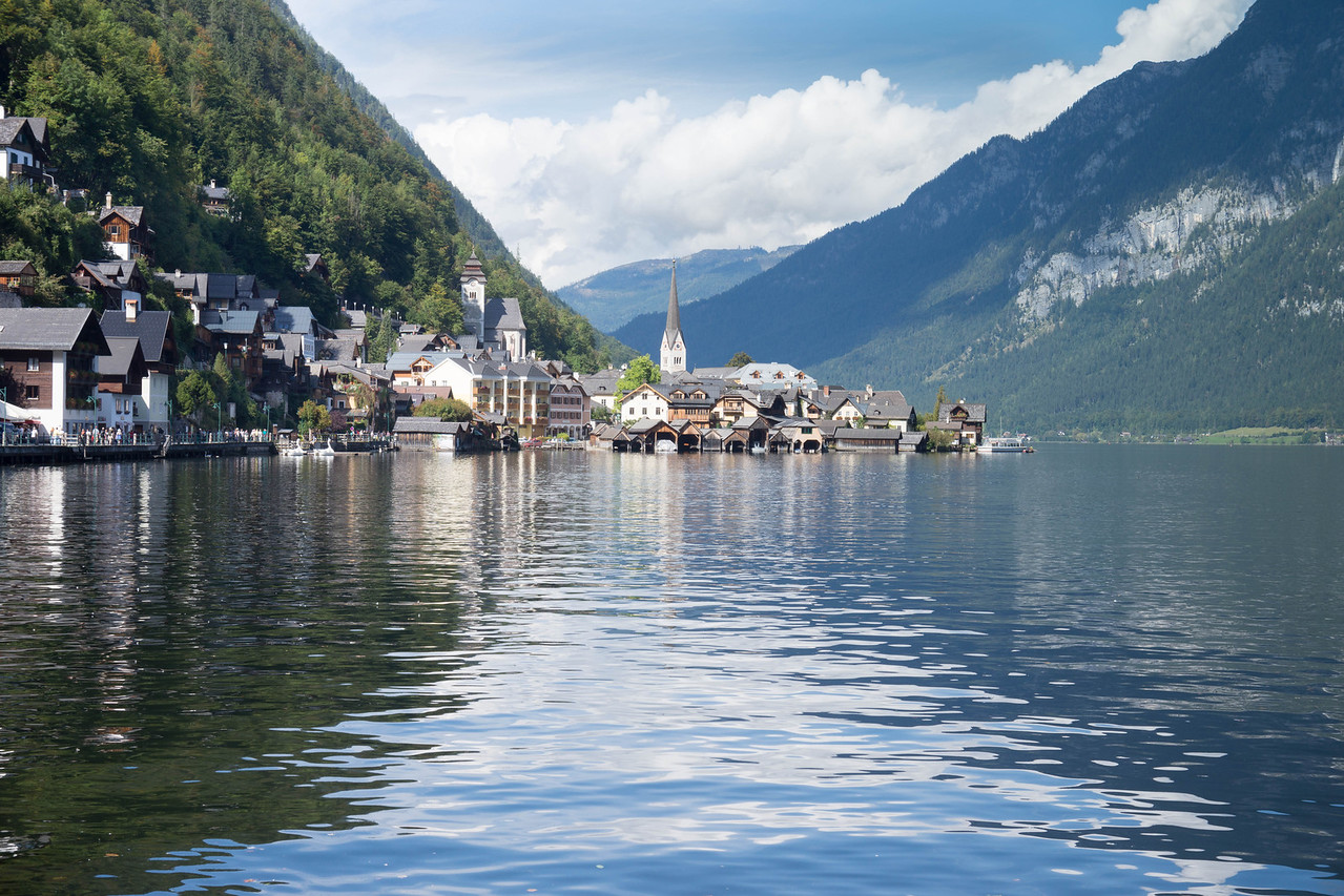 Hallstatt on Hallstätter See
