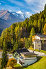 The village of  Heiligenblut, Tyrol, Carinthia, Austria, Europe.