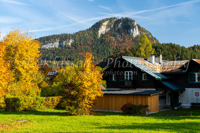 The small village of Altaussee, Styria, Austria, Europe.