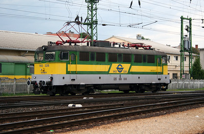 GYSEV, V43 326 at Sopron on 10th August 2006