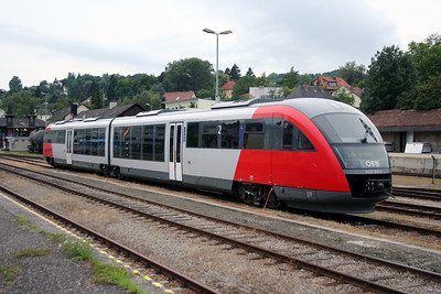 5022 015 at Linz Urfahr on 5th August 2006