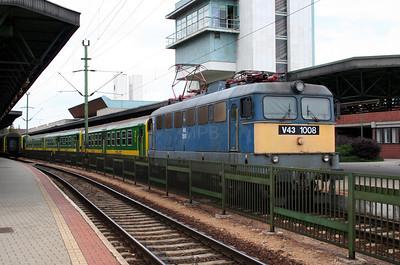 MAV, V43 1008 at Sopron on 10th August 2006