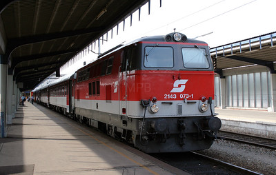 2143 073 at Wien Sud (ost) Hbf on 8th August 2007