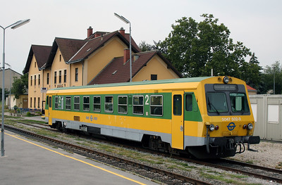 GySEV, 5047 502 at Eisenstadt on 9th August 2007
