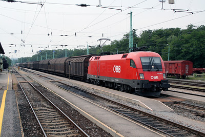 1116 203 at Wulkaprodersdorf on 9th August 2007