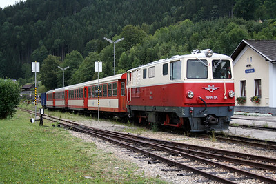 1) 2095 005 at Lunz am See on 10th August 2007