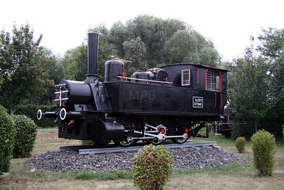 steam, GYSEV, 377.942 at Wulkaprodersdorf on 9th August 2007