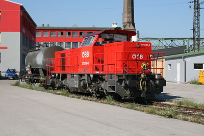 2070 063 at Wien Westbahnhof Depot on 7th August 2008
